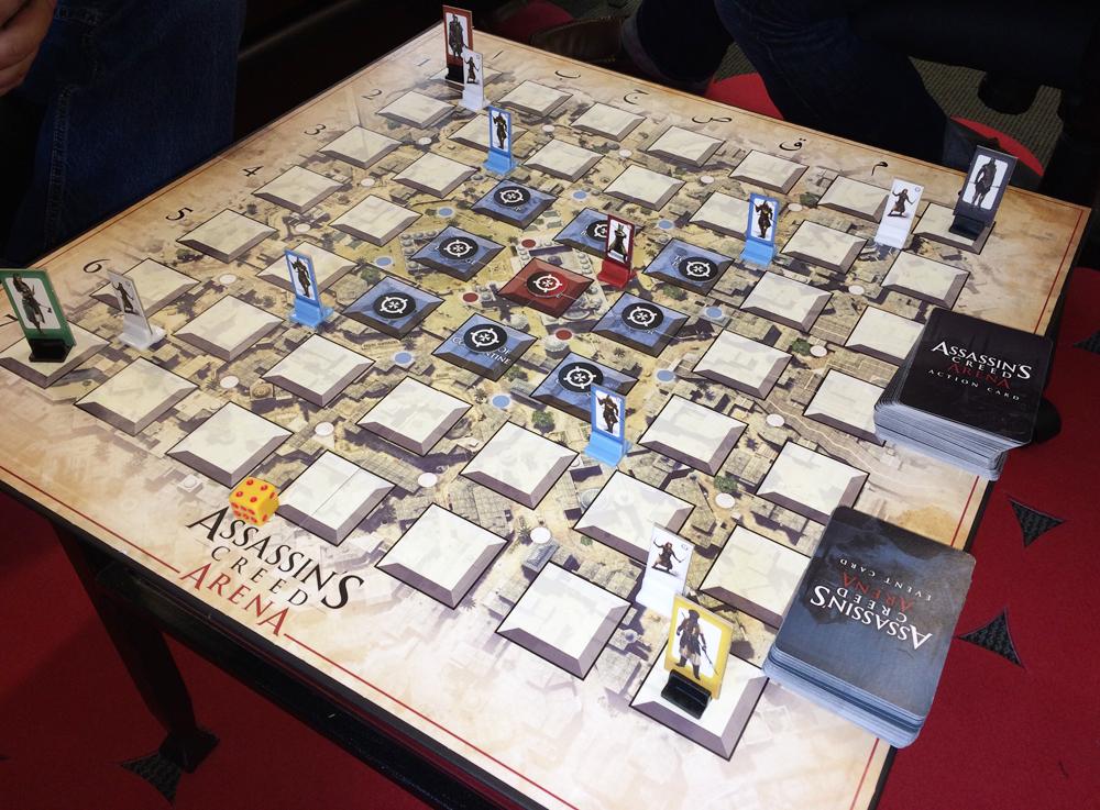 Assassin's Creed koncem měsíce i jako stolní hra 93544