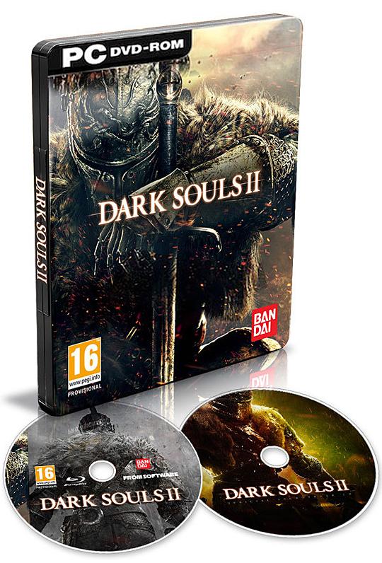 Limitovaná edice Dark Souls 2 za necelých osm stovek 93881