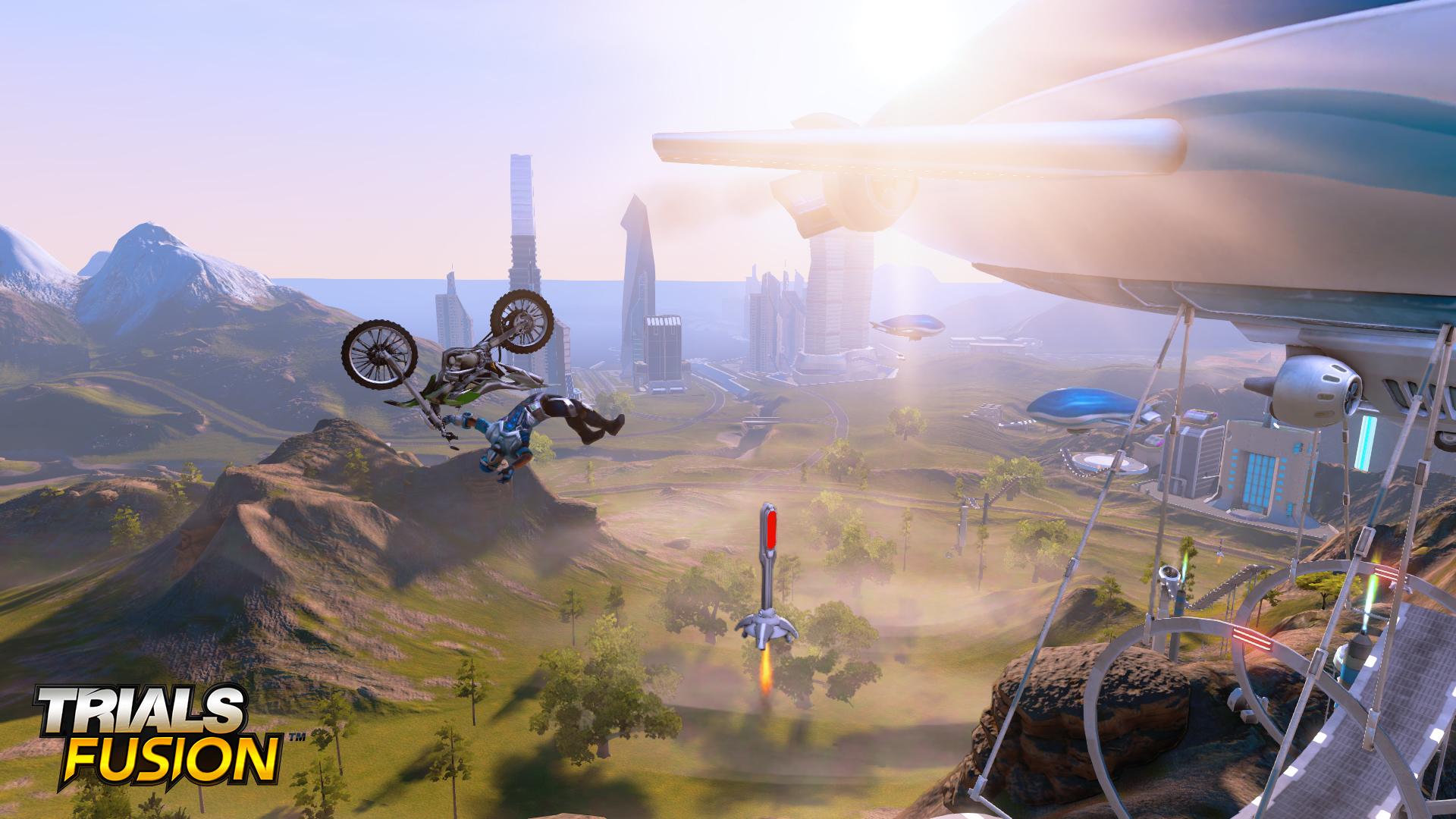 Bláznivé skoky v Trials Fusion 93976