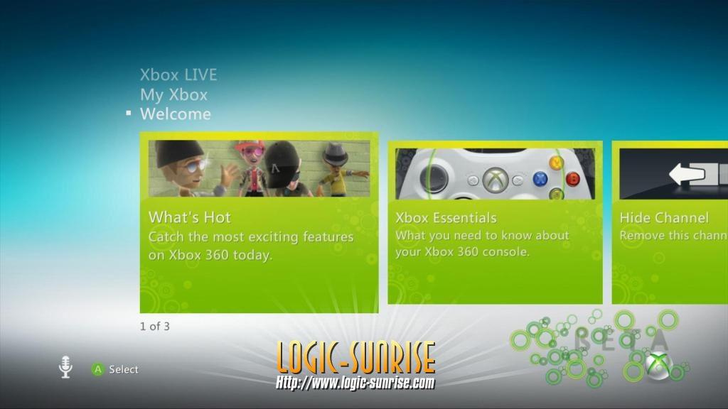 Unikly screeny Dashboardu s podporou Kinectu 9403