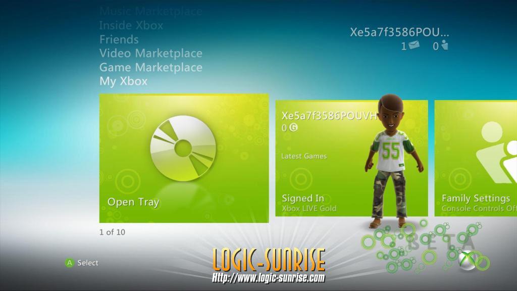 Unikly screeny Dashboardu s podporou Kinectu 9404