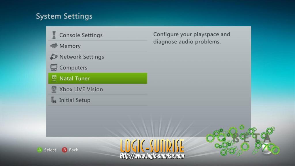 Unikly screeny Dashboardu s podporou Kinectu 9408