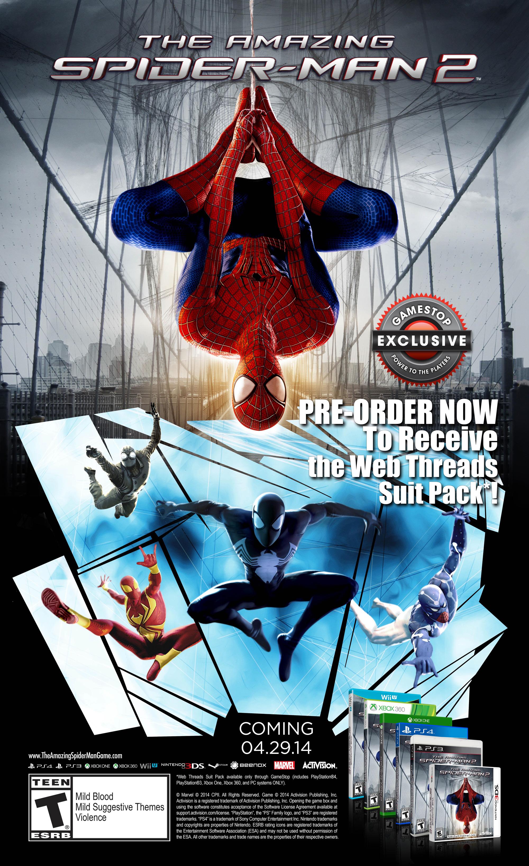 Nové dobrodružství Spider-Mana s datem vydání 94130
