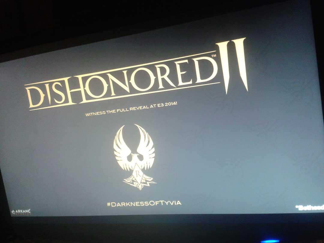 Velké překvapení na E3: Oznámení Dishonored 2? 94131