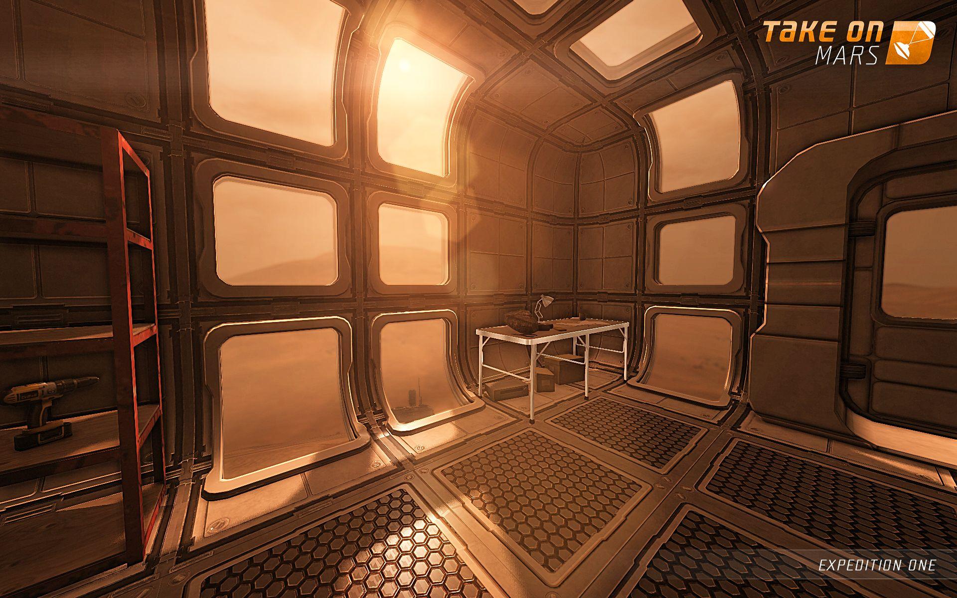 S updatem Take On Mars dorazí na Mars lidská posádka 94134