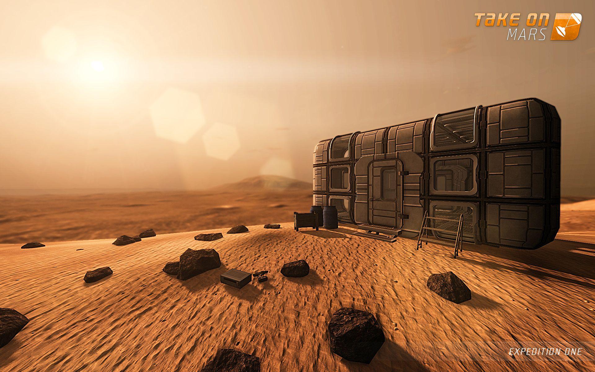 S updatem Take On Mars dorazí na Mars lidská posádka 94135