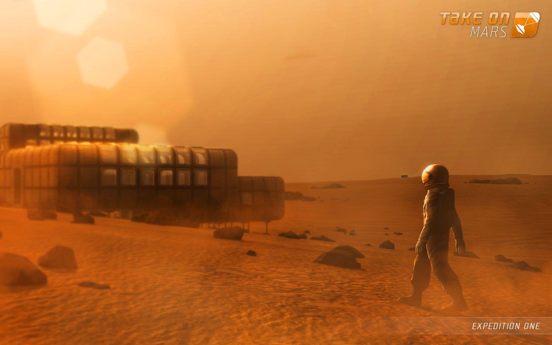 S updatem Take On Mars dorazí na Mars lidská posádka 94137