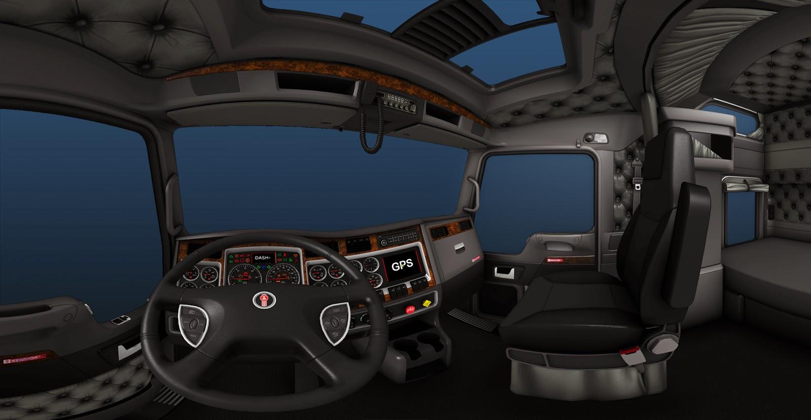 Detailnější interiéry v American Truck Simulatoru 94143
