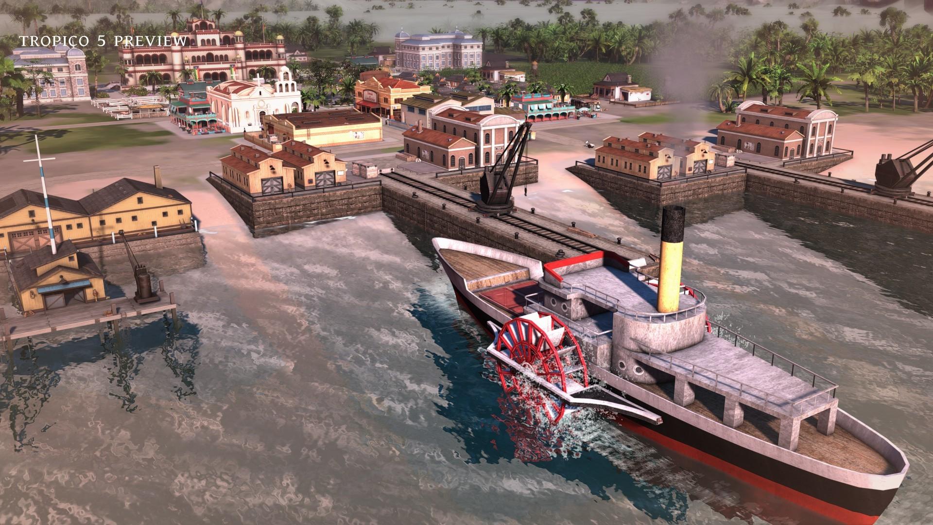 Tropico 5 dorazí v létě 94268