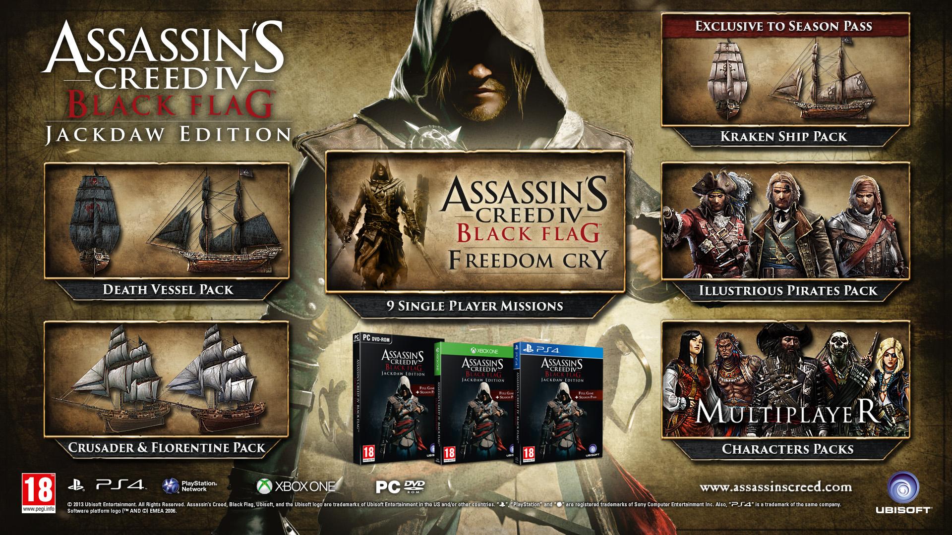 V prodeji bude GOTY edice Assassin's Creed 4 94491