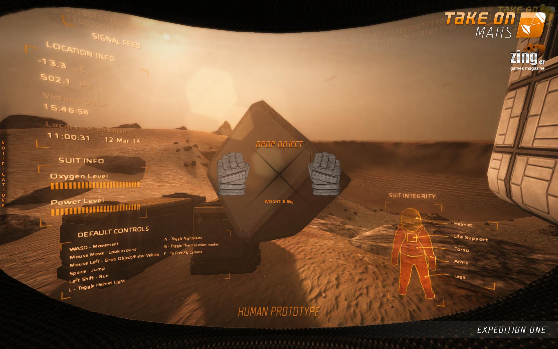 Take On Mars: Expedition One - dojmy z expedice do kanceláří Bohemia Interactive 94520