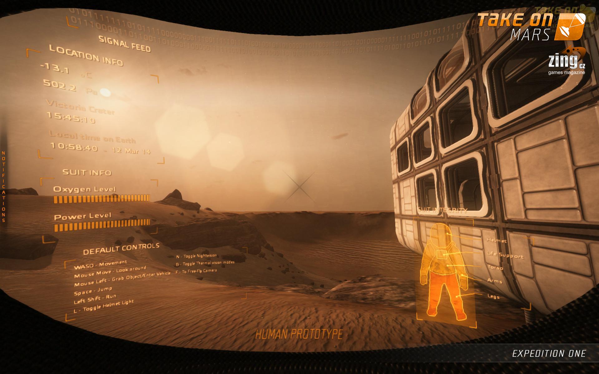 Take On Mars: Expedition One - dojmy z expedice do kanceláří Bohemia Interactive 94522