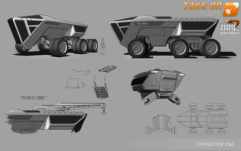 Take On Mars: Expedition One - dojmy z expedice do kanceláří Bohemia Interactive 94525