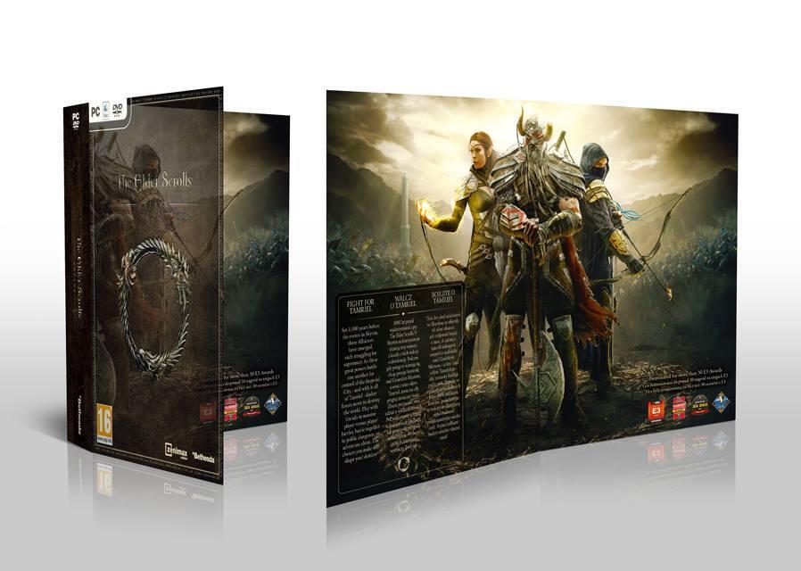 Elder Scrolls Online bude mít pěknou krabičku 94526