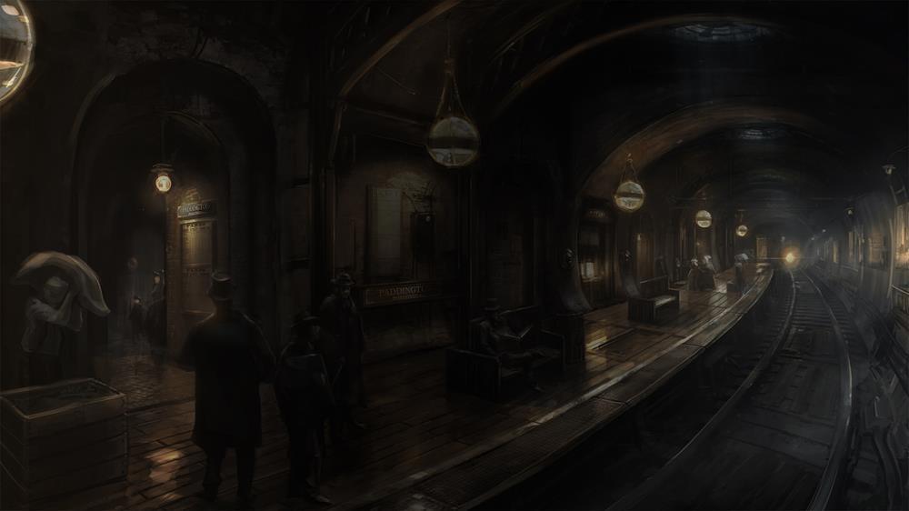 Steampunkové londýnské metro z The Order: 1886 94537