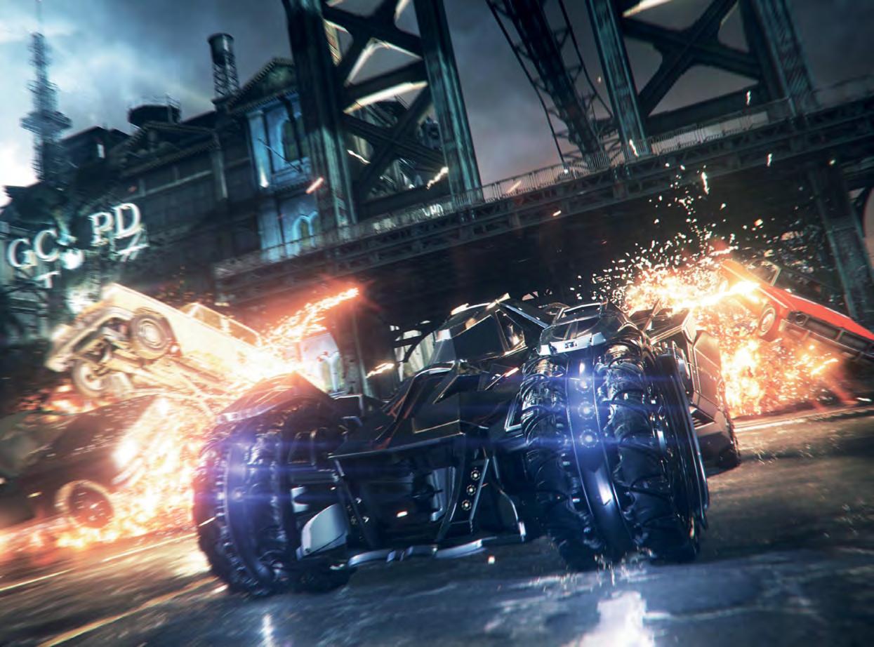 Obrazem: Svět a postavy z Batman: Arkham Knight 94653