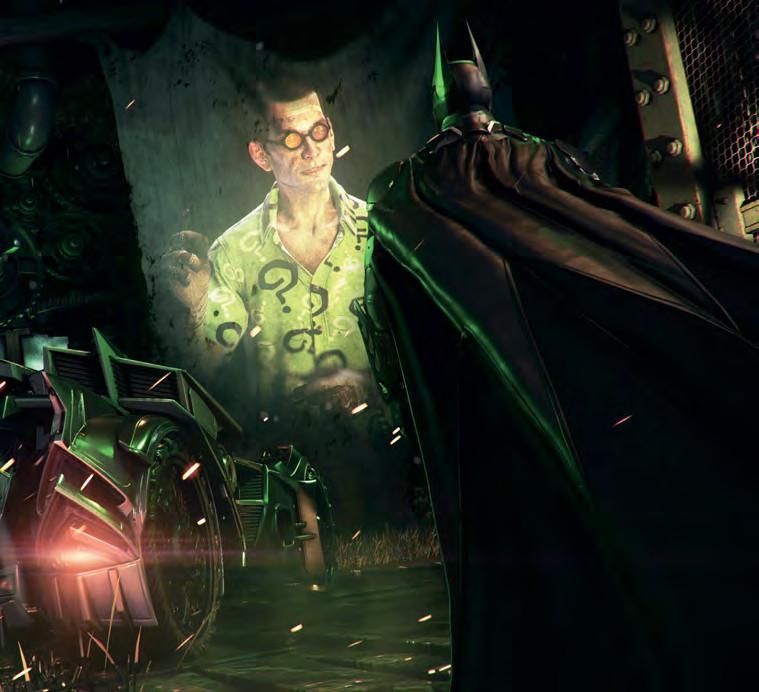 Obrazem: Svět a postavy z Batman: Arkham Knight 94657