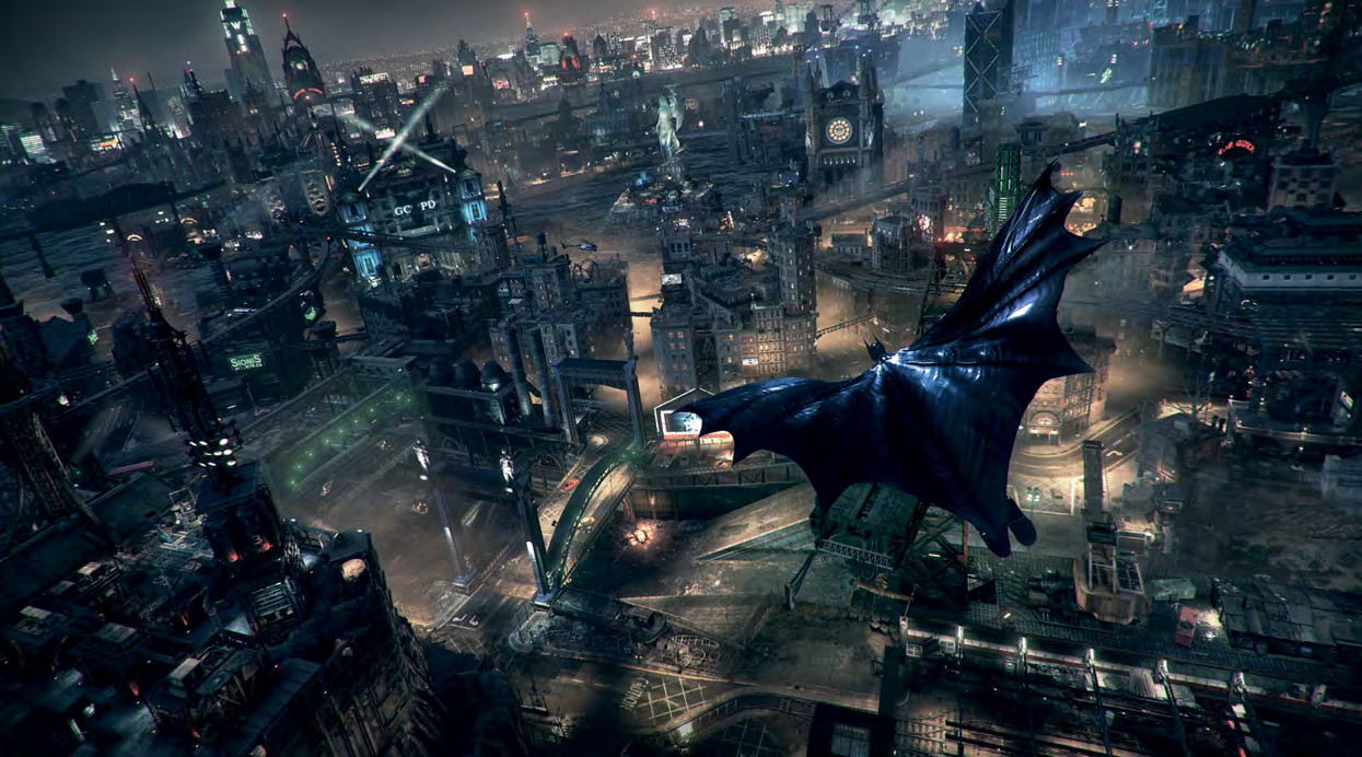 Obrazem: Svět a postavy z Batman: Arkham Knight 94658
