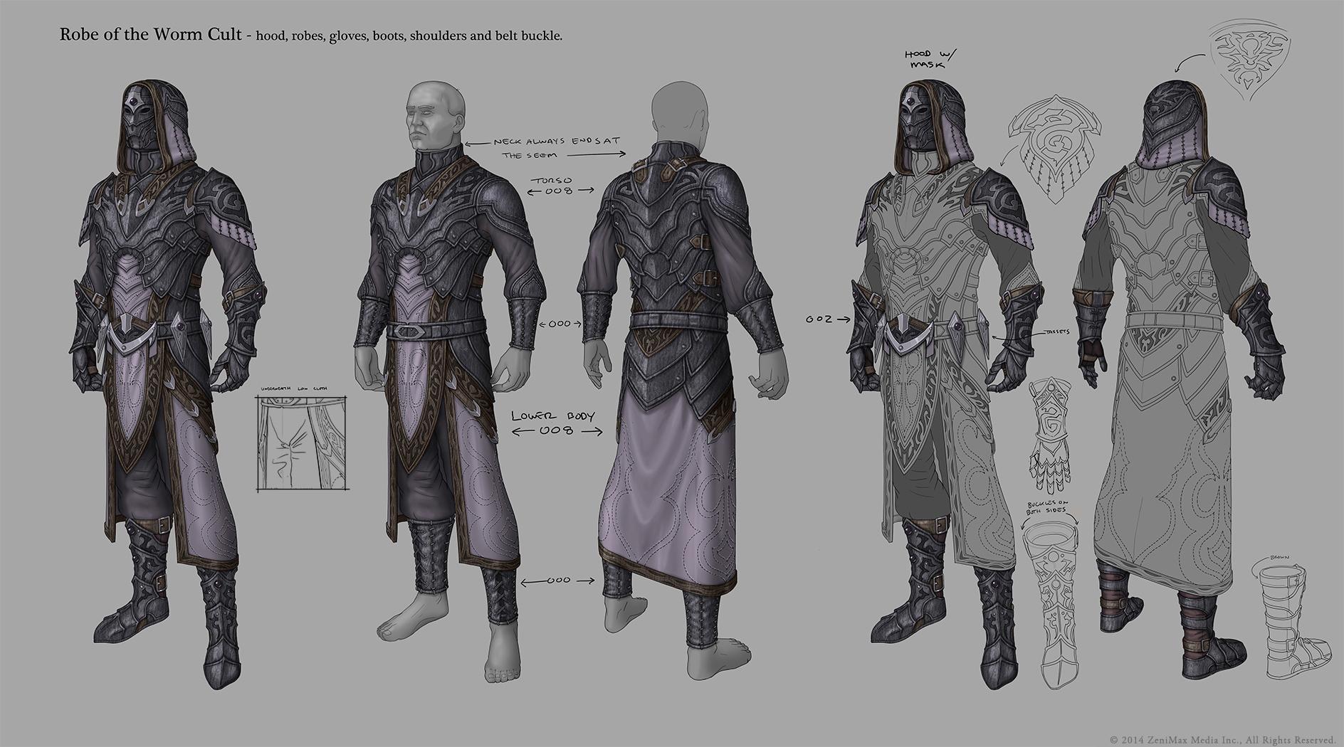 Krásné artworky z Elder Scrolls Online 94962