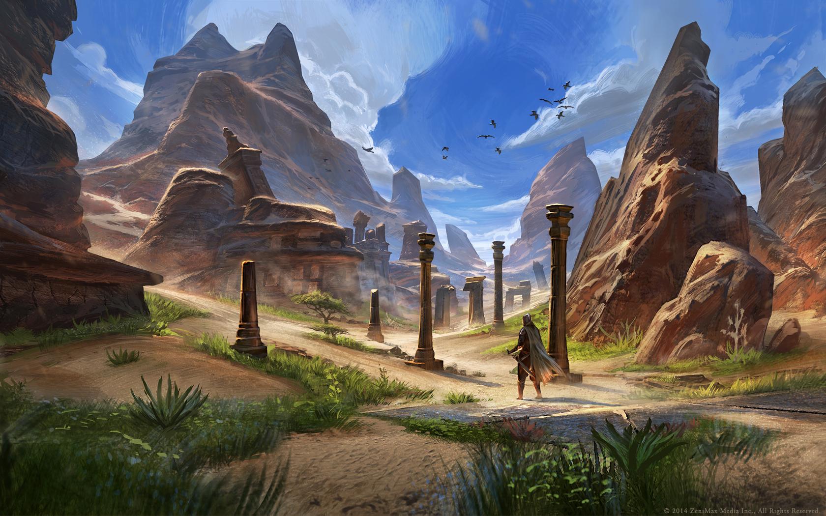 Krásné artworky z Elder Scrolls Online 94968