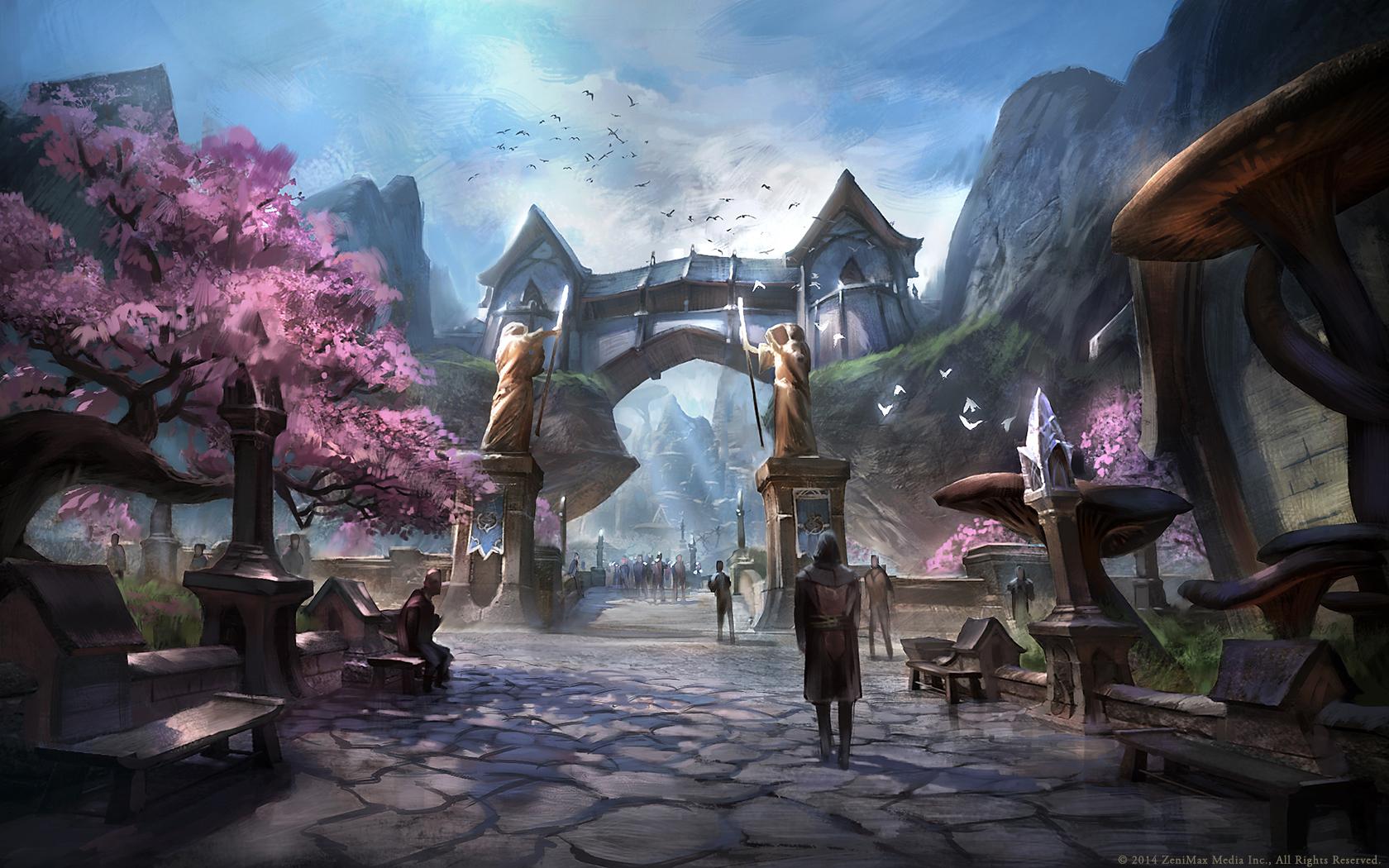 Krásné artworky z Elder Scrolls Online 94969