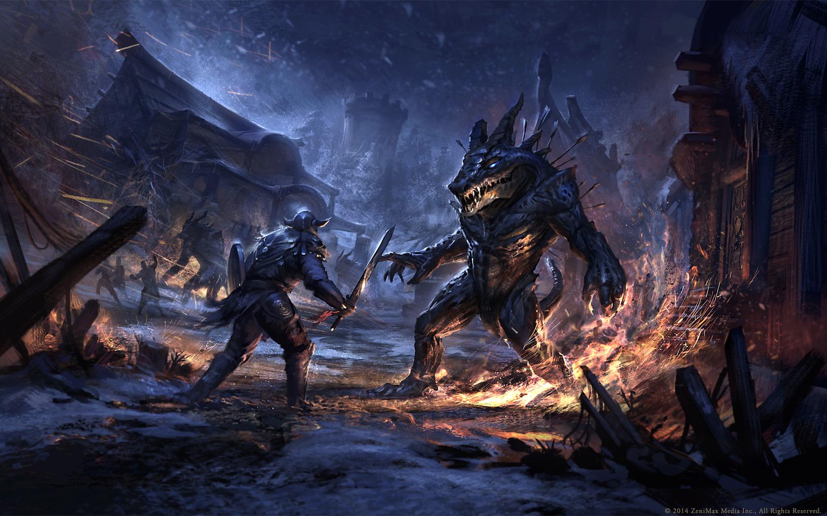 Krásné artworky z Elder Scrolls Online 94973