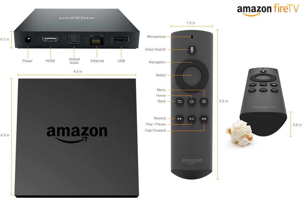 Amazon představil Fire TV. Dokáže streamovat hry a filmy 95262