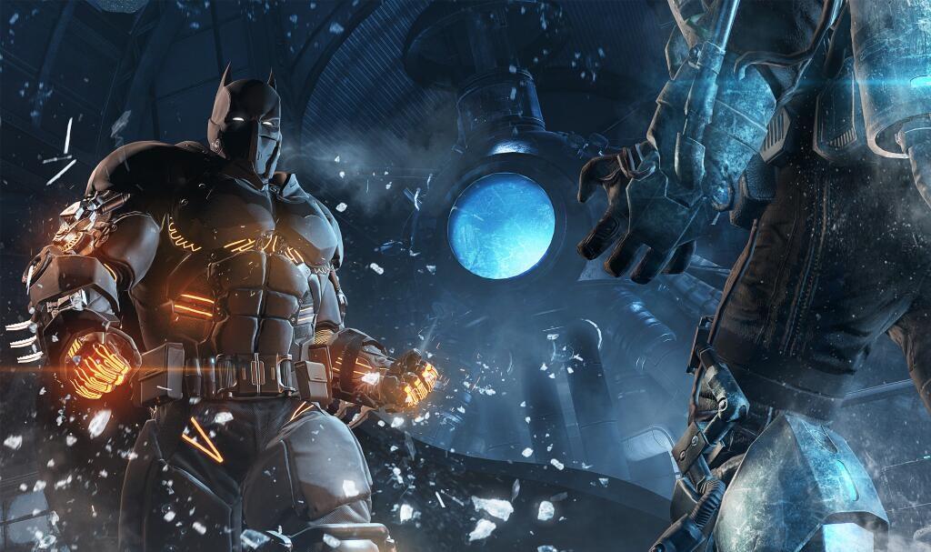 Batmanův oblek do mrazu v DLC pro Arkham Origins 95327