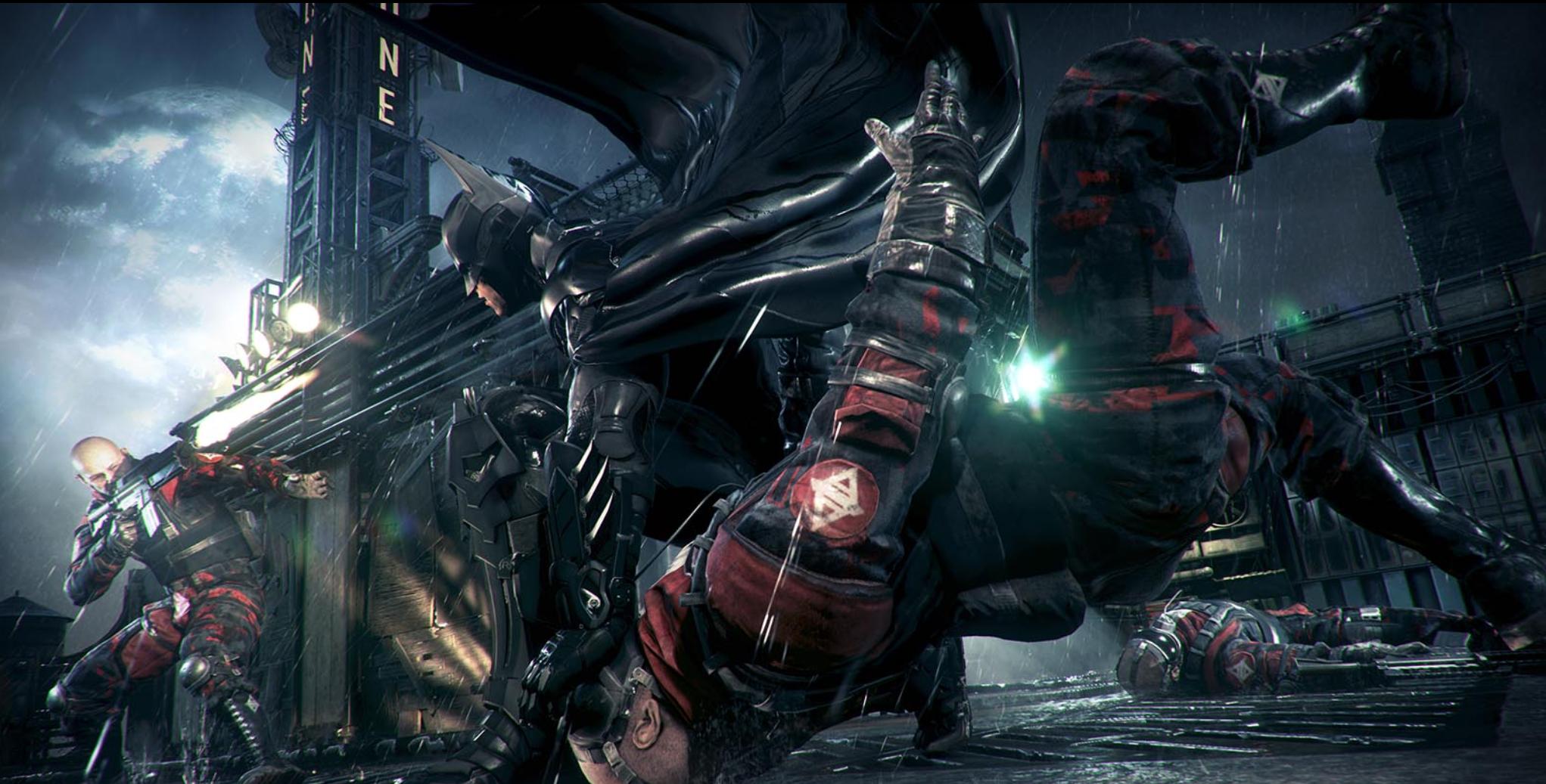 Staronové obrázky z Batman: Arkham Knight 95701