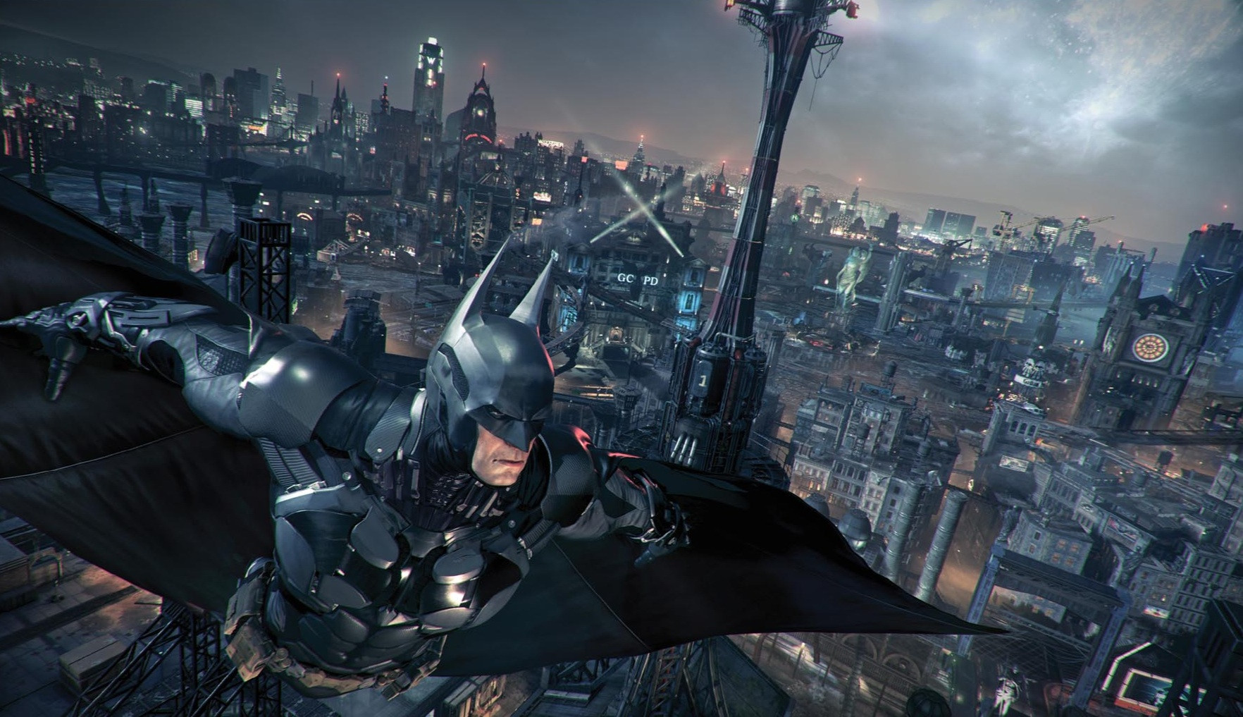 Staronové obrázky z Batman: Arkham Knight 95707