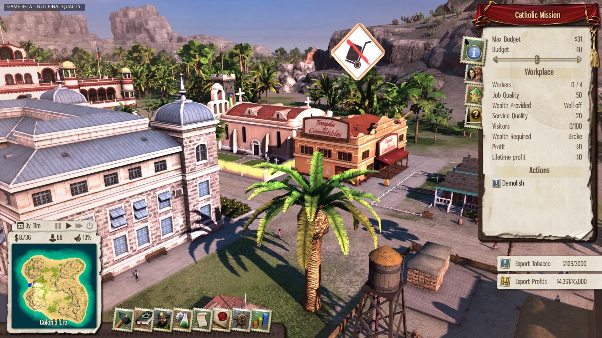 Nové in-game obrázky z Tropico 5 96127