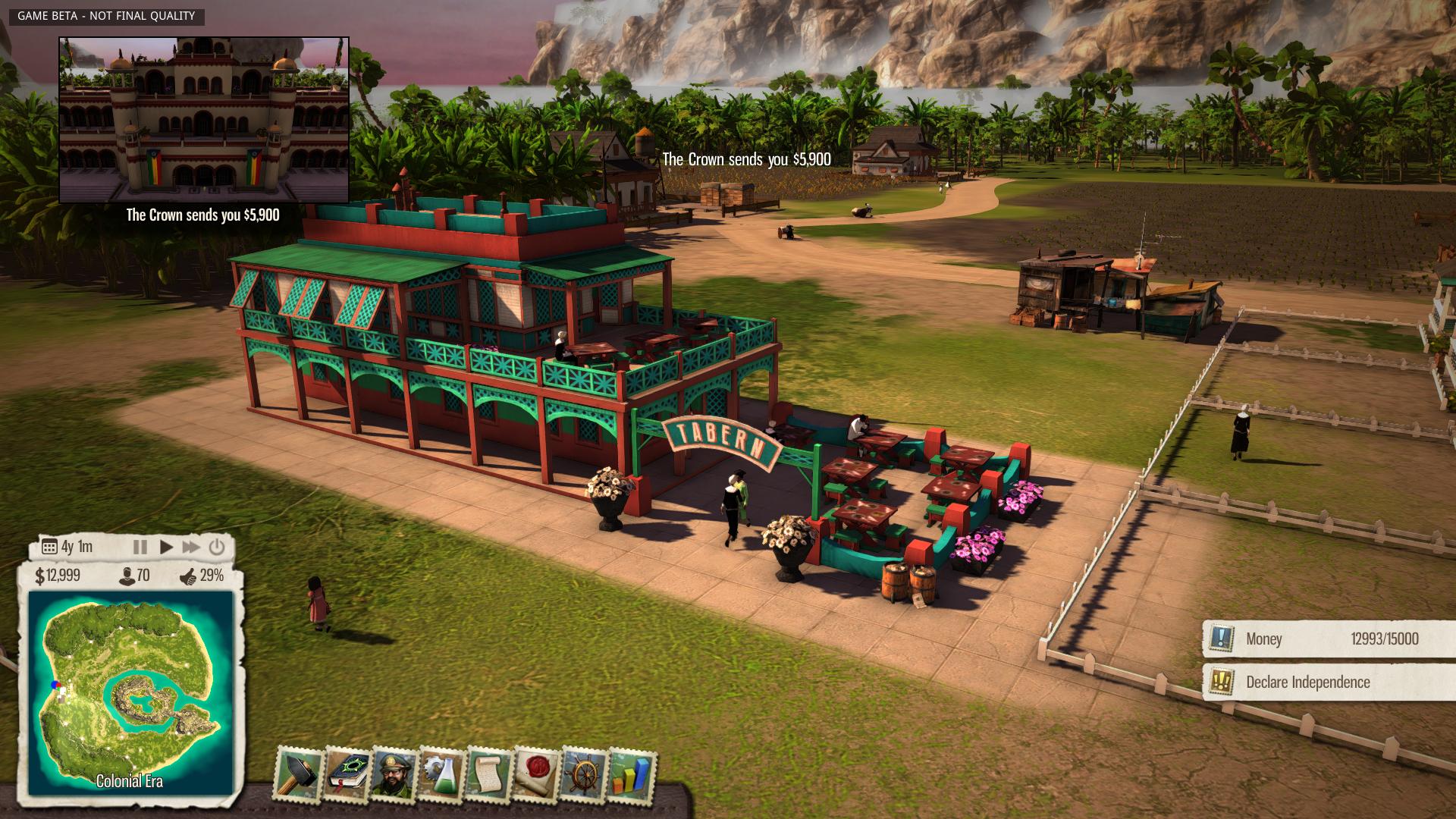 Nové in-game obrázky z Tropico 5 96128