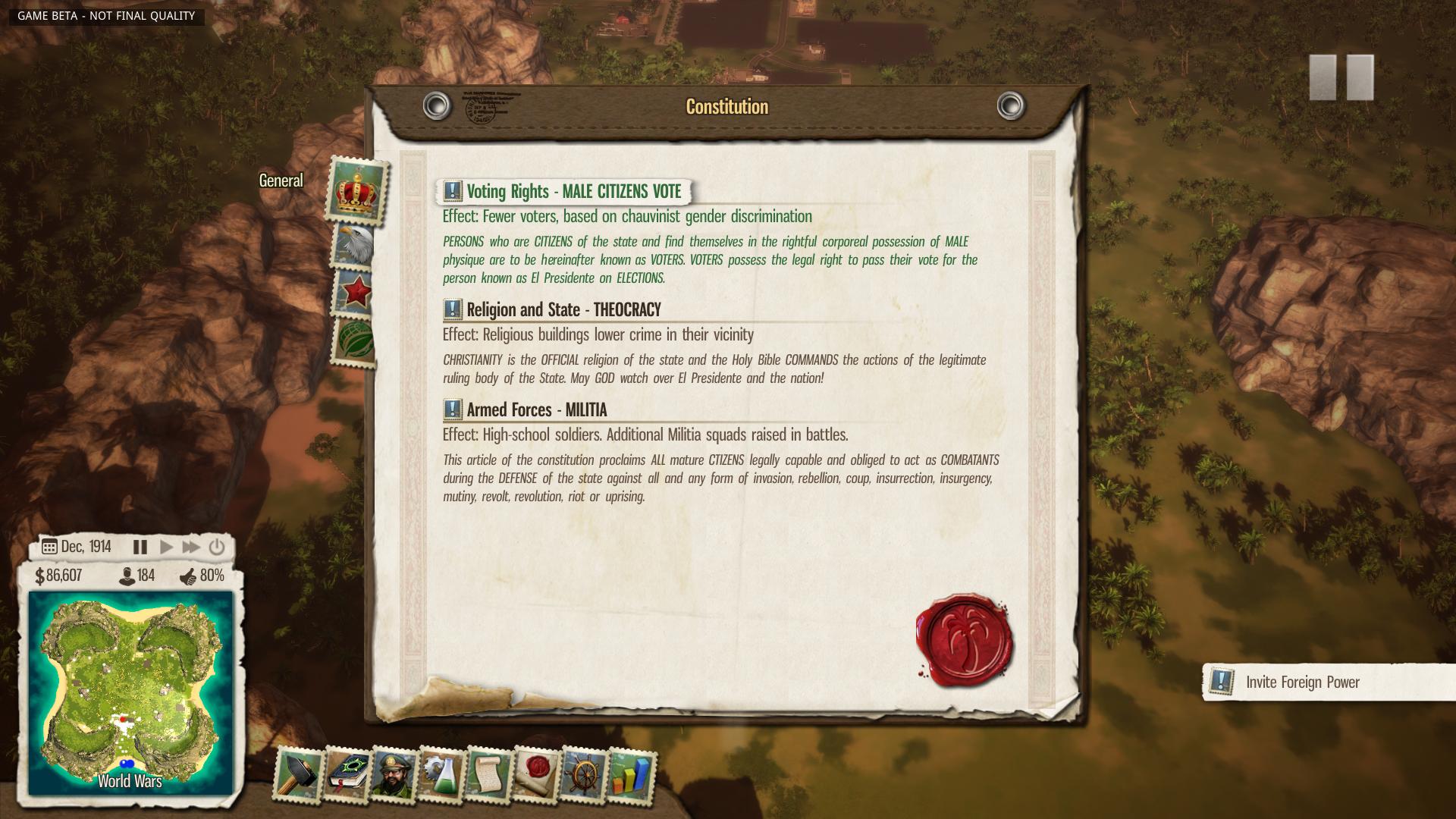 Nové in-game obrázky z Tropico 5 96131