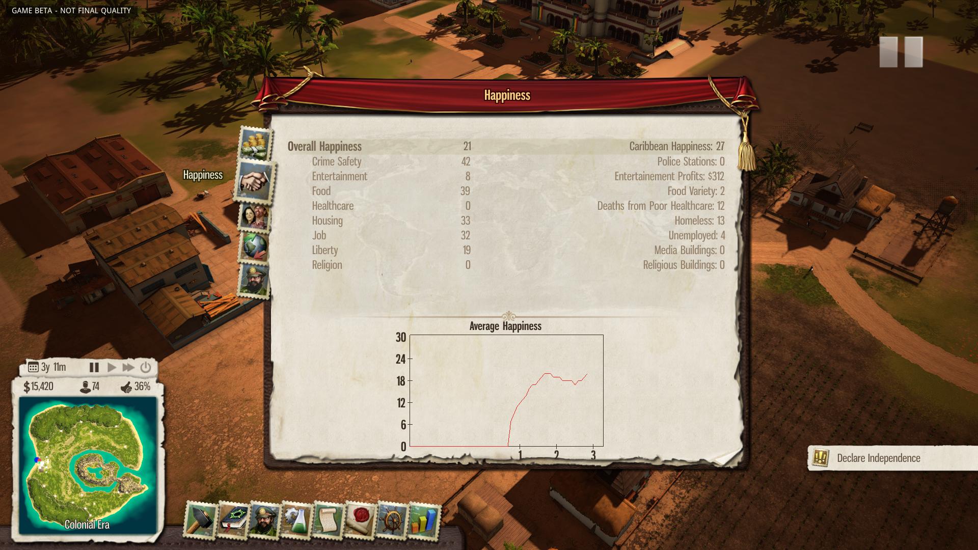 Nové in-game obrázky z Tropico 5 96133