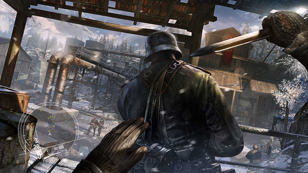 Příběhové pozadí válečného Enemy Front 96292