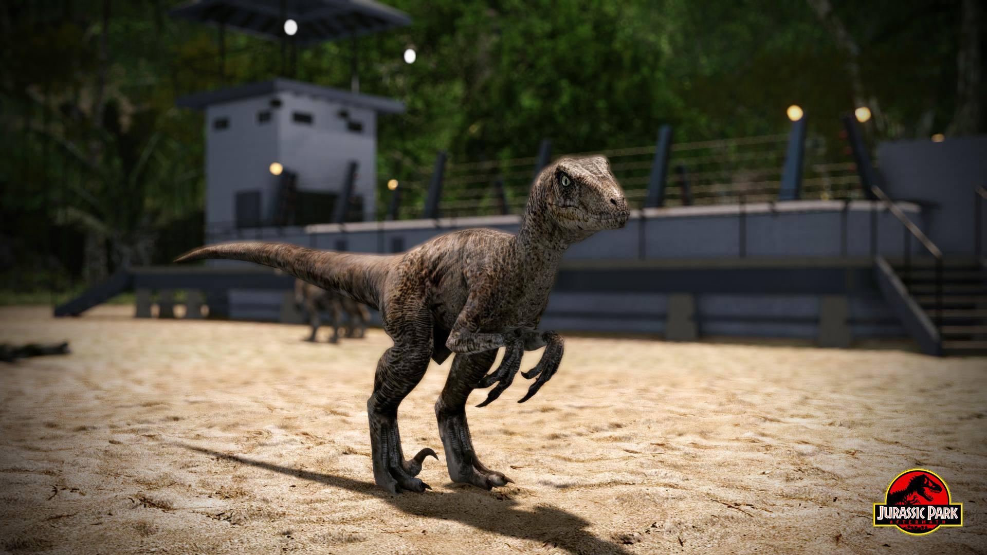 Jurassic Park: Aftermath - fanouškovská vize Jurského Parku 96540