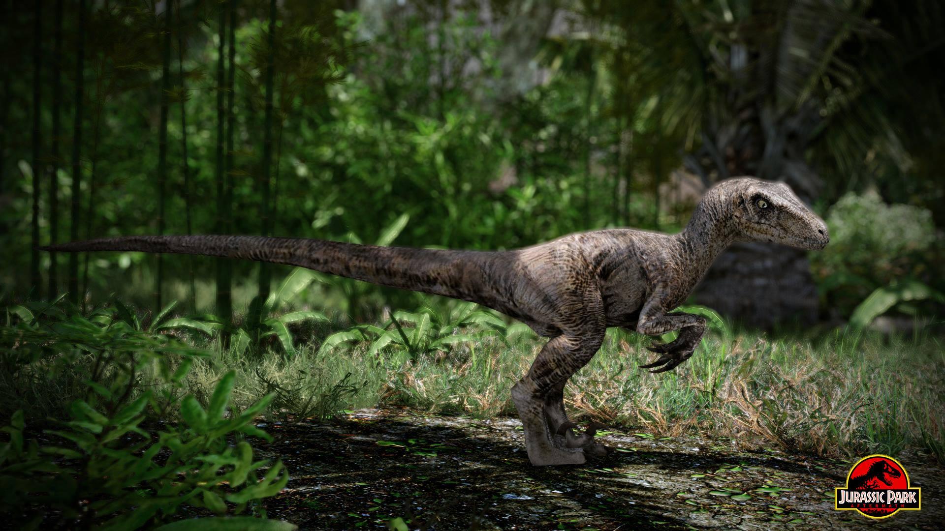 Jurassic Park: Aftermath - fanouškovská vize Jurského Parku 96541