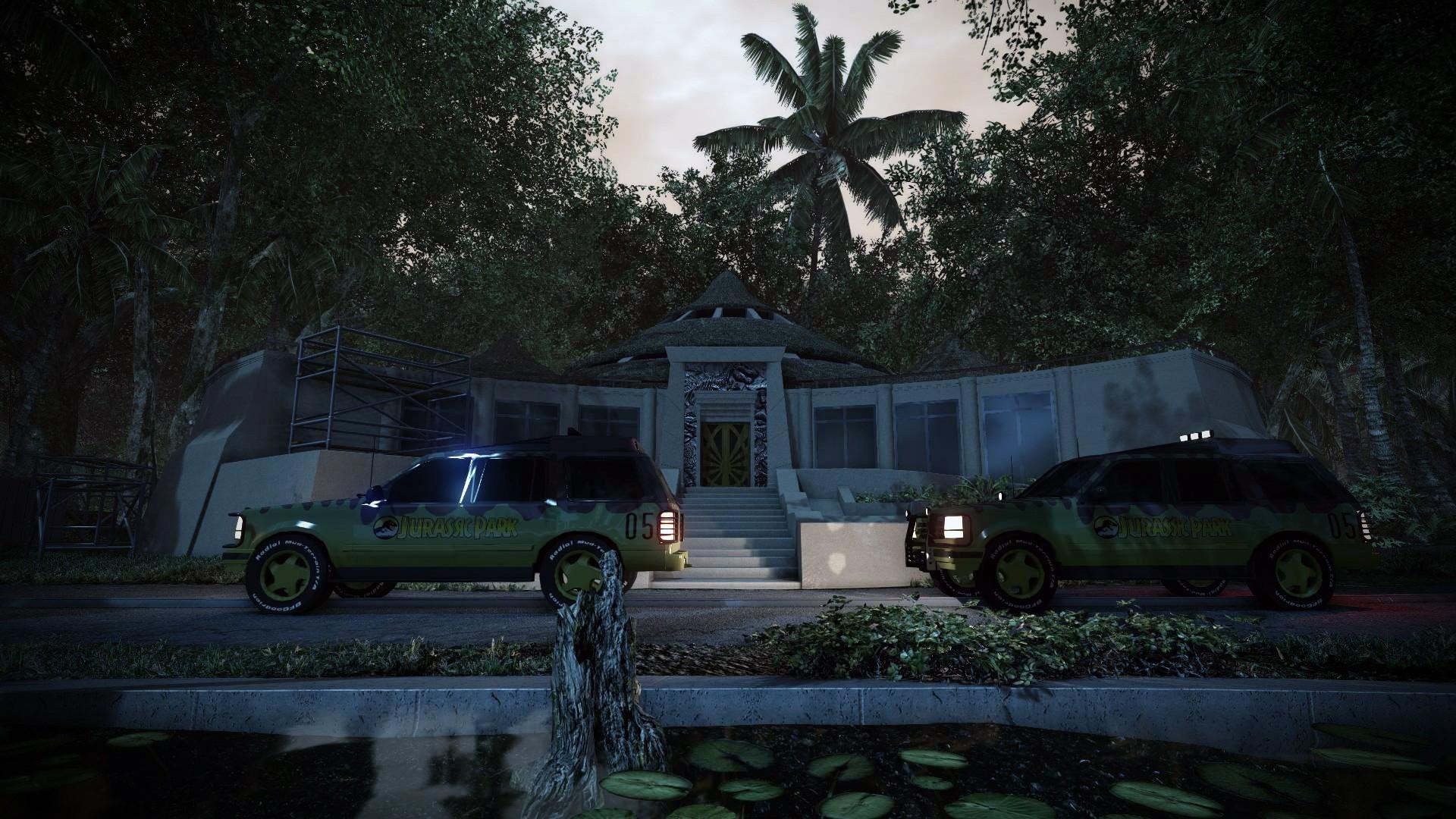 Jurassic Park: Aftermath - fanouškovská vize Jurského Parku 96545
