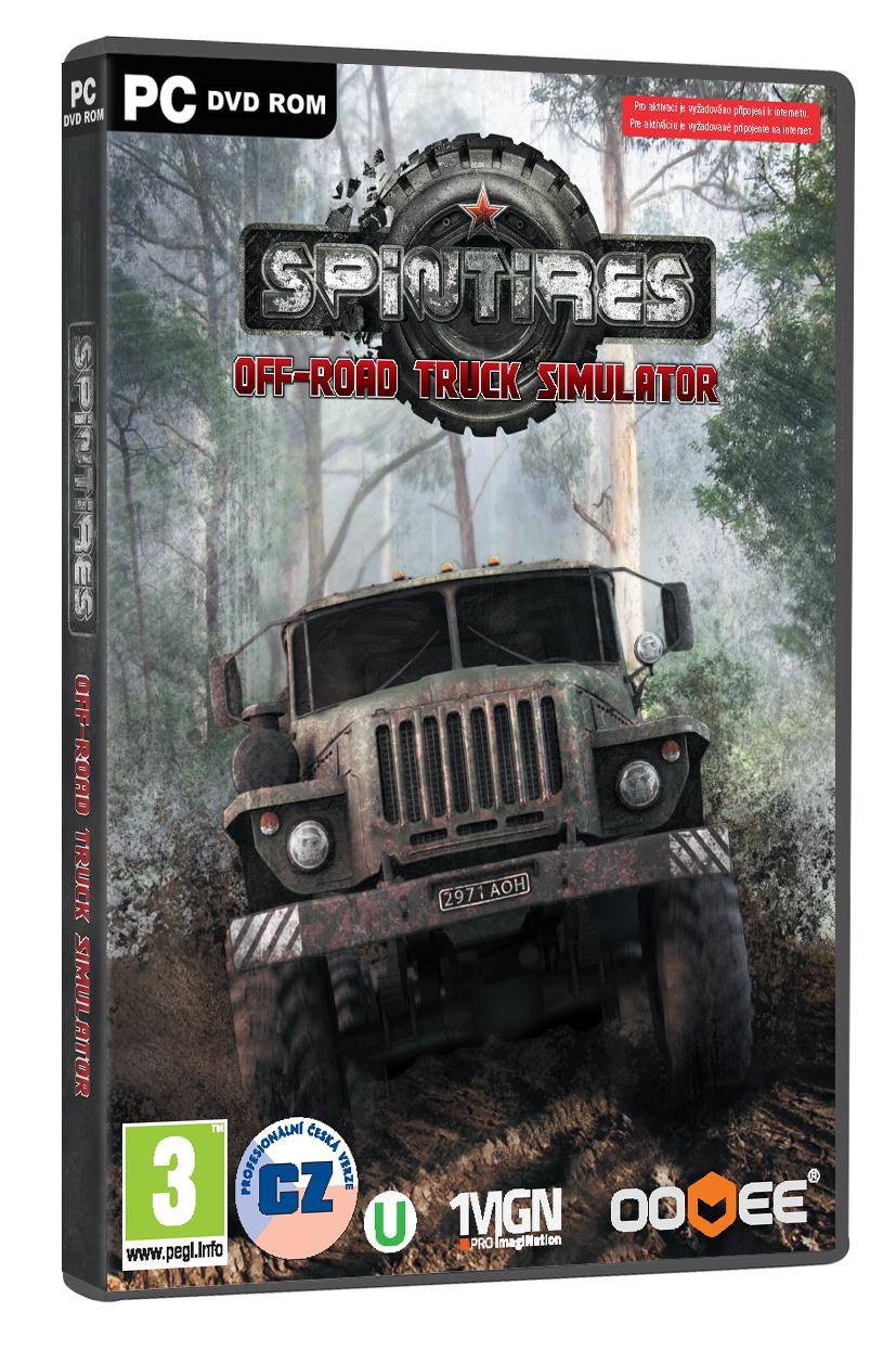 Off-road truck simulátor Spintires s českými titulky 96831