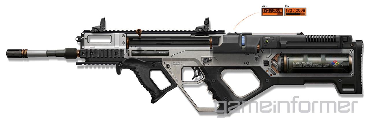 3D Printer Rifle, unikátní zbraň v Call of Duty: Advanced Warfare 96981