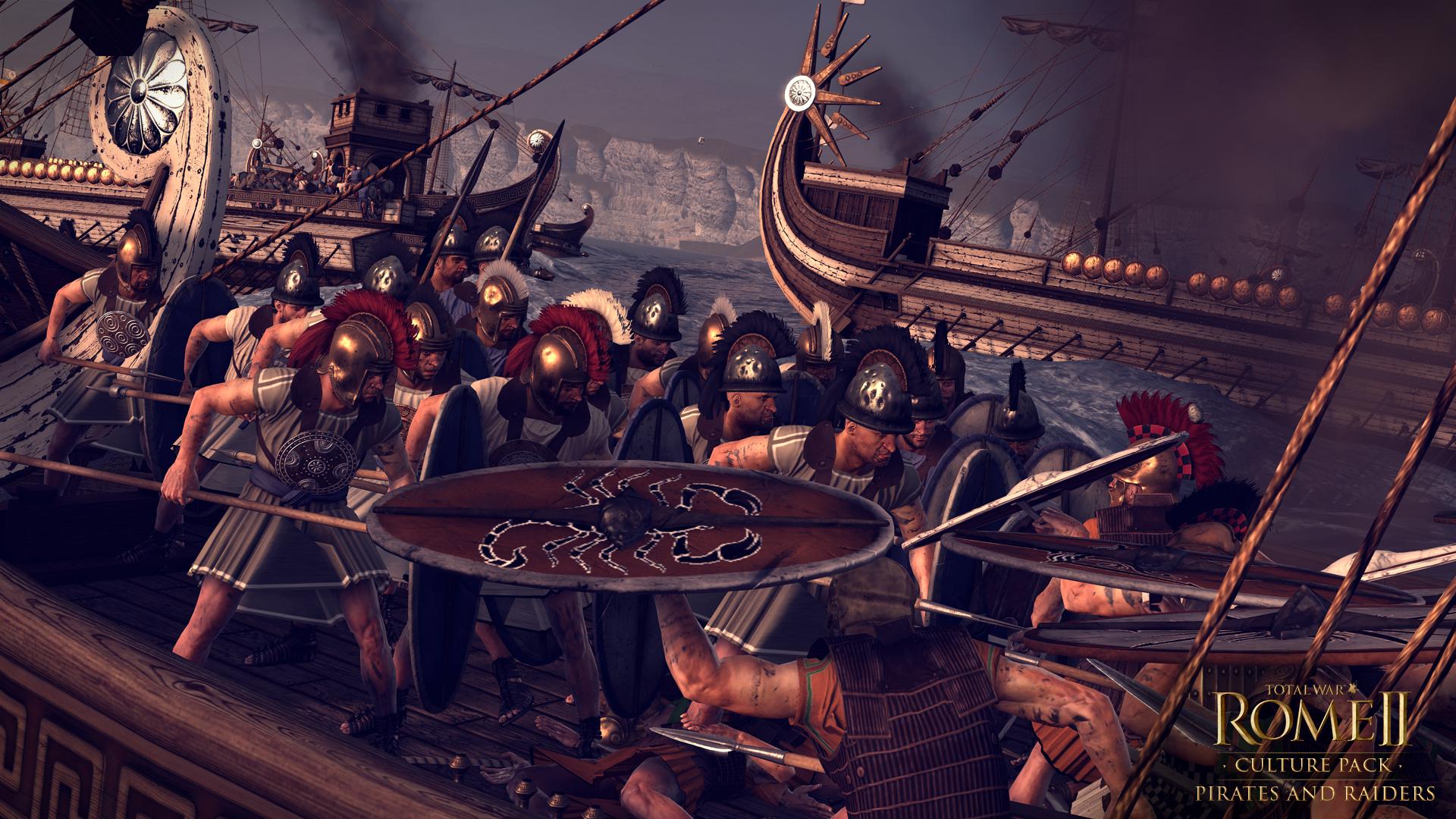 Piráti a nájezdníci se přiřítili do Total War: Rome 2 97114