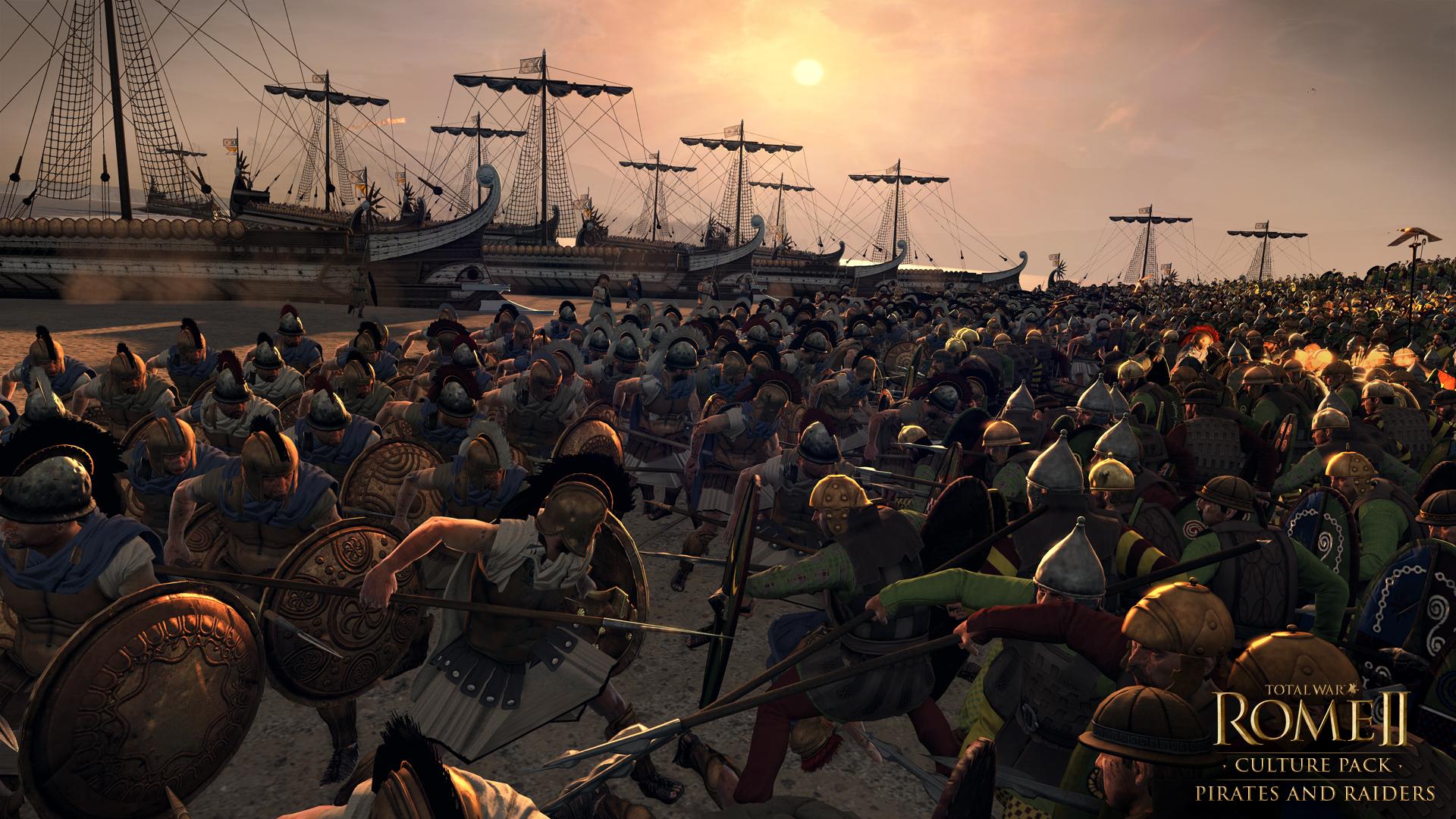 Piráti a nájezdníci se přiřítili do Total War: Rome 2 97115