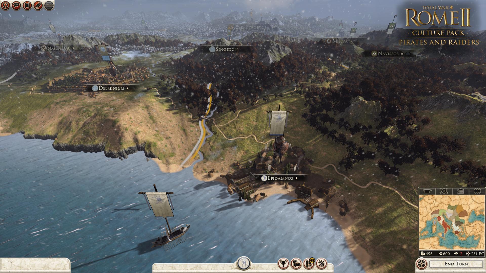 Piráti a nájezdníci se přiřítili do Total War: Rome 2 97116