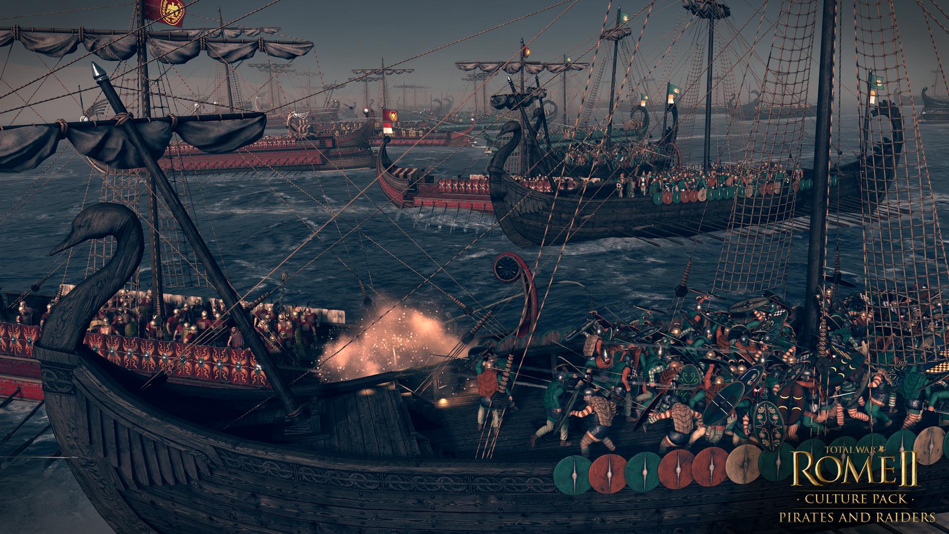 Piráti a nájezdníci se přiřítili do Total War: Rome 2 97117