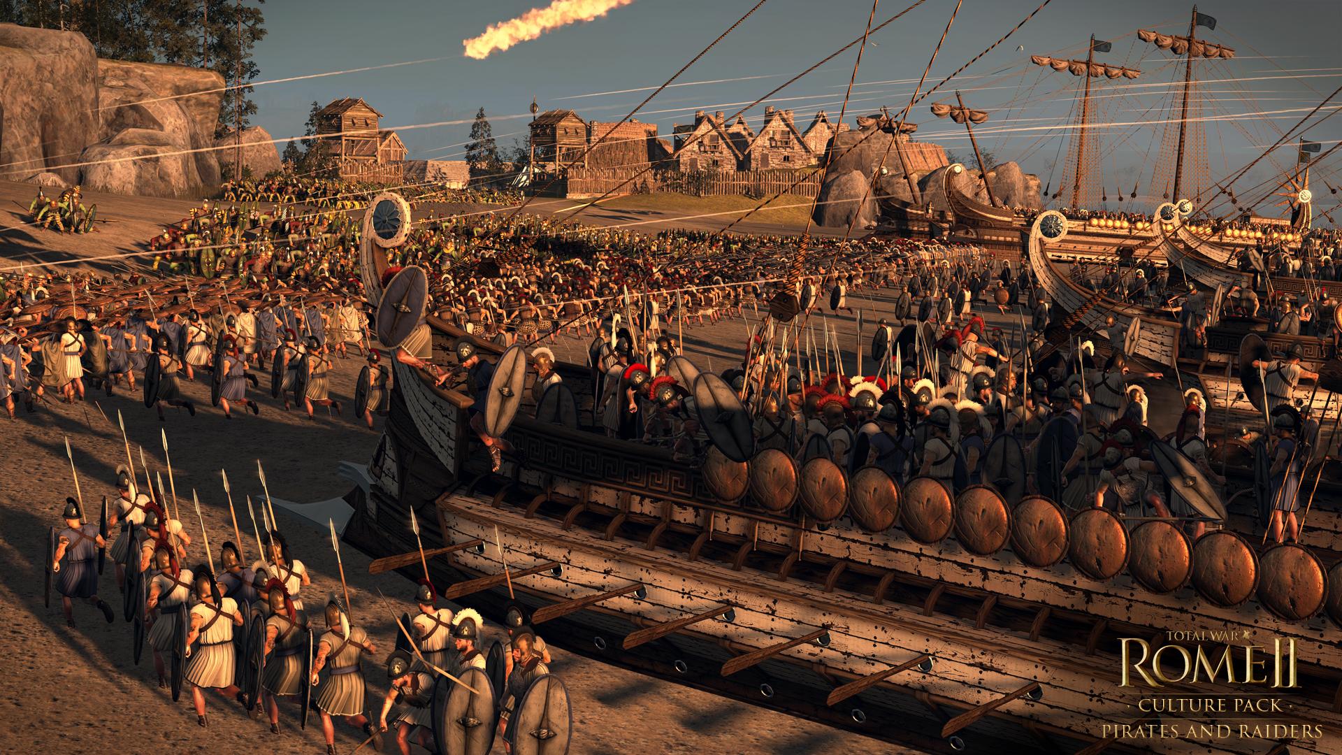 Piráti a nájezdníci se přiřítili do Total War: Rome 2 97118