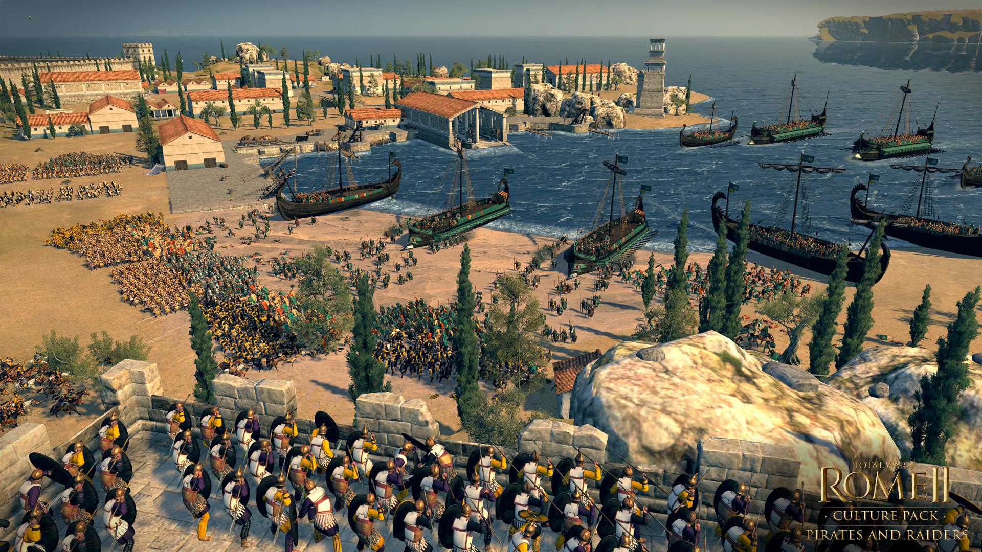 Piráti a nájezdníci se přiřítili do Total War: Rome 2 97119