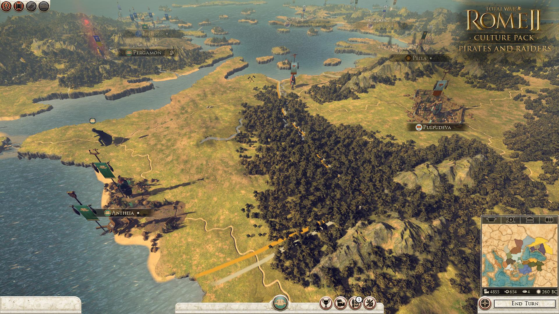 Piráti a nájezdníci se přiřítili do Total War: Rome 2 97120