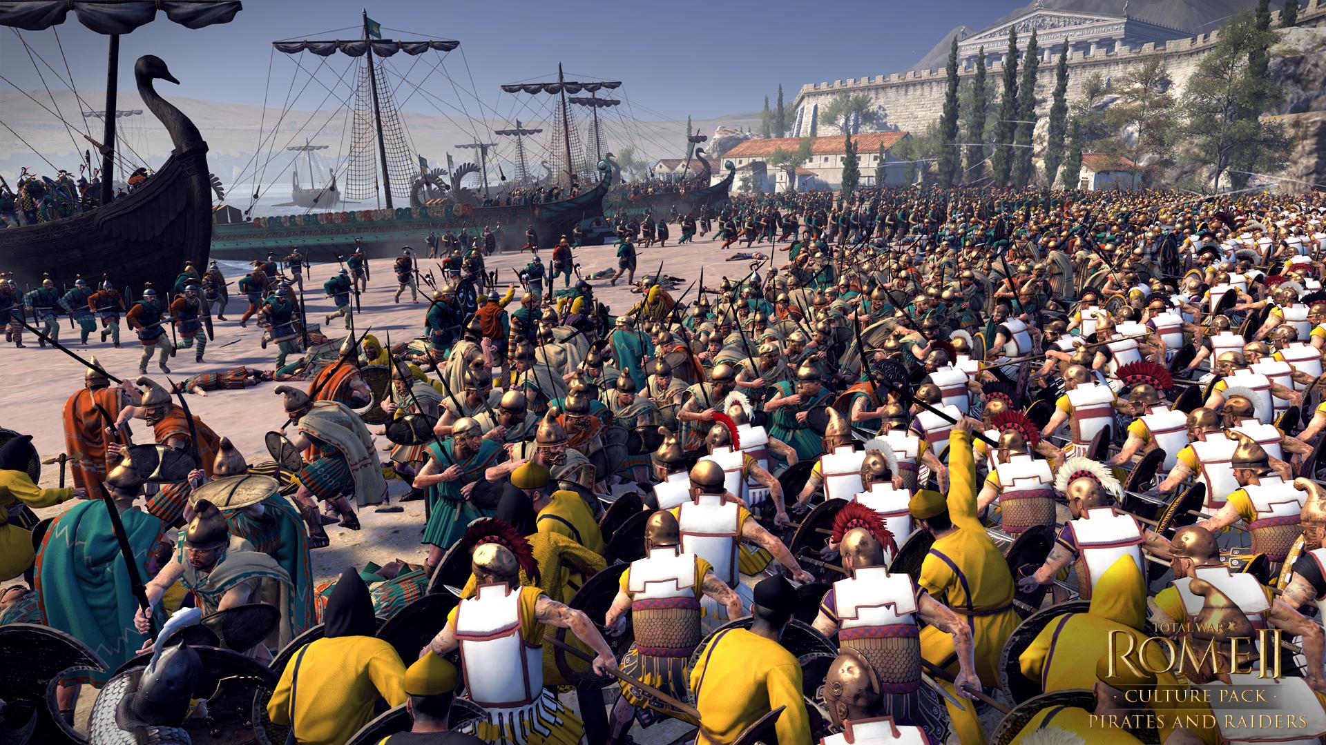 Piráti a nájezdníci se přiřítili do Total War: Rome 2 97121