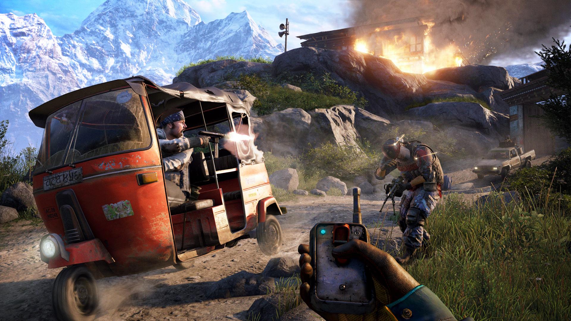 Ve Far Cry 4 si každý hráč vytvoří svůj příběh 97663