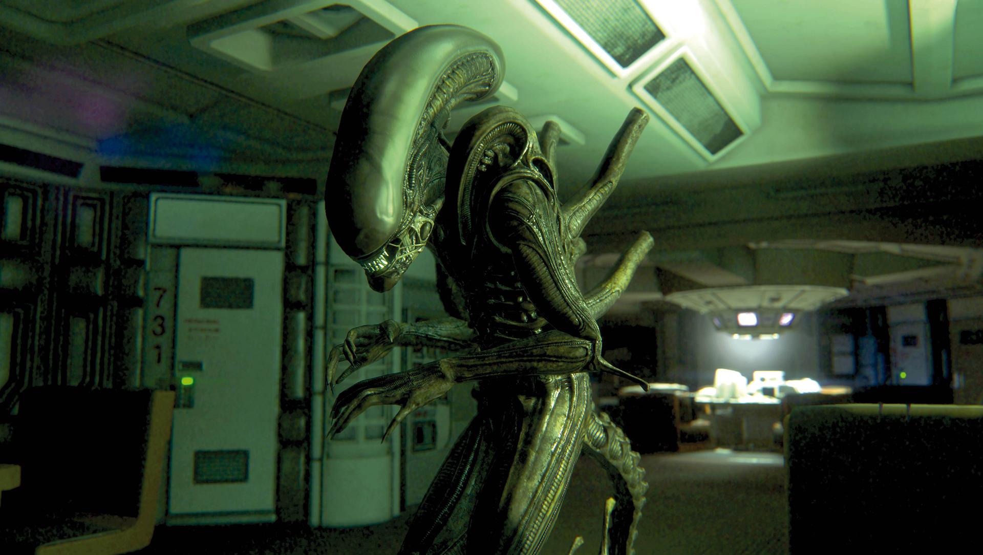 Alien: Isolation – poznejte živého Vetřelce 97793